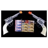 Pair Of Toy Cap Guns With Roll Caps