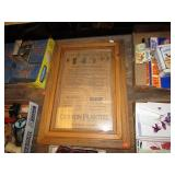"""ANTIQUE SWEAP STAKES PAPER --- 20"""" X 15"""""""