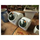 2-- CERAMIC CANISTERS
