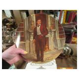 """""""GONE WITH THE WIND"""" RETT BUTLER PLATE"""