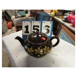 BROWN POTTERY PITCHER
