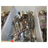 TRAY LOT -- WRENCHES, MISC TOOLS