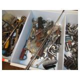TRAY LOT -- WRENCHES & MORE