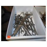 TRAY LOT -- WRENCHES
