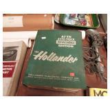 HOLLANDER AUTO-TRUCK INTERCHANGE BOOK 47th