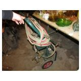 TORCH CART W/ HOSE & 3 TORCHES