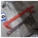 2-- BAR CLAMPS