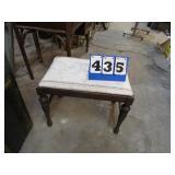 VINTAGE STOOL / VANITY SEAT