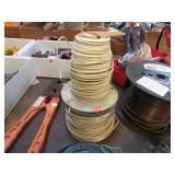 2  ROLLS-- SOLID COPPER #12 WIRE
