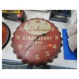 REPRO STRAWBERRY SODA CLOCK