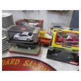 4 DIE CAST CARS