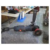 ANGLE GRINDER W/ CUP WIRE WHEEL