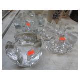 3 ART GLASS PCS