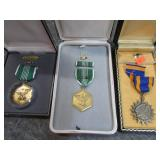 5 MILITARY MEDALS