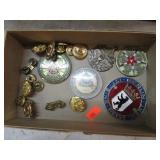 GROUPLOT MILITARY BUTTONS, TOKENS