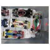 9 DIE  CAST FORMULA RACE CARS