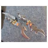 2 FANTASY DAGGER KNIVES