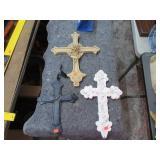 3 CROSSES, 1 CAST IRON
