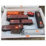 MODEL TRAIN BOX/TANK CARS