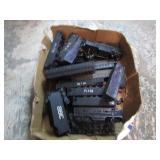 TRAYLOT- ASSORTED TRAIN CARS/ENGINES PARTS