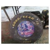 RACING TIRE SECTION W/ JEFF GORDON PIC