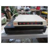 VHS VCR & POWER CENTER