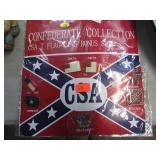 CSA 7 FLAG PIN SET
