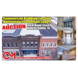 Commercial Building For Sale on Nostalgic Murfreesboro Downtown Square! AUCTION Oct. 14th