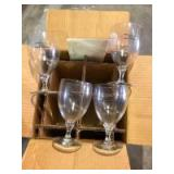 Indianapolis Motor Speedway Champagne Glasses (4)