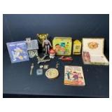 Assortment of Classic Vintage Childrens Toys: Sesame Street, Batman, and more!