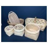 Assortment of Baskets & Wine Corks