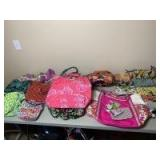 Large Collection of Vera Bradley Bags, Purses, and Accessories