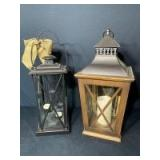 (2) Decorative Lanterns/Candle Holders