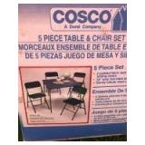 Cosco Table and Chair Set (Only Has 3 Chairs)
