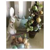 Assortment of Easter Decorations