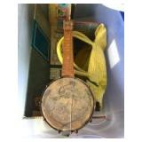 Vintage Metal Playhouse, Claraphone Banjo, Etc.