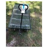 Metal Cart - 14in. T x 24in. W x 48in. D