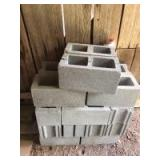 Assortment of Cinderblocks (Buyer Responsible For Removal)