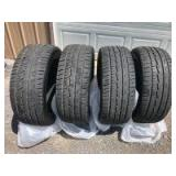 Set of (4) Like-new 22in. Ironman Tires - 285/45R22