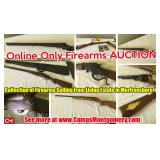 Living Estate Auction featuring Collection of Firearms