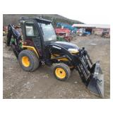 YANMAR EX3200 COMPACT TRACTOR W/ LOADER & SUBFRAM
