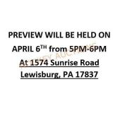 Preview On April 6th From 5pm-6pm