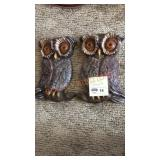 Owl Wall Hanging, 2 piece