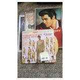 Elvis Album and Wall Hangings