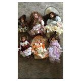 Box of Porcelain Dolls #1