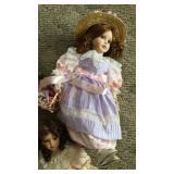 Box of Porcelain Dolls #3