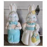 Easter Bunny Blow Molds