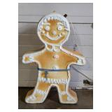 2 Christmas Gingerbread Blow Molds