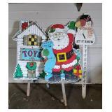 3 Christmas Yard Decorations