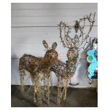 Lighted Reindeer
